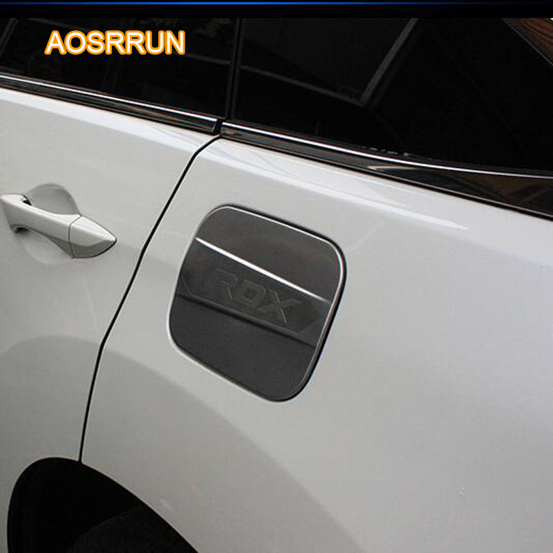 AOSRRUN Stainless Steel Tank Cover Cover Decoration Paste