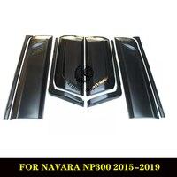ABS черная облицовка корпуса для Nissan Navara наборы для тела Nissan Navara 2016 облицовка корпуса для Navara NP300 2015 2019
