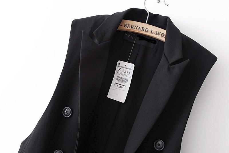 blazer vest outwear ow0114 black-1