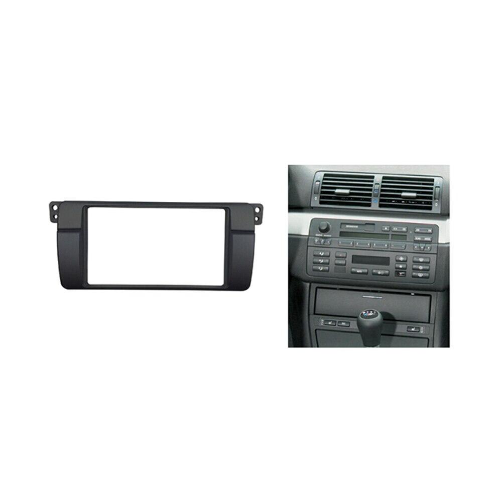 Double Din Radio Fascia för BMW 3 Series E46 1998-2005 Stereo Panel - Reservdelar och bildelar - Foto 4