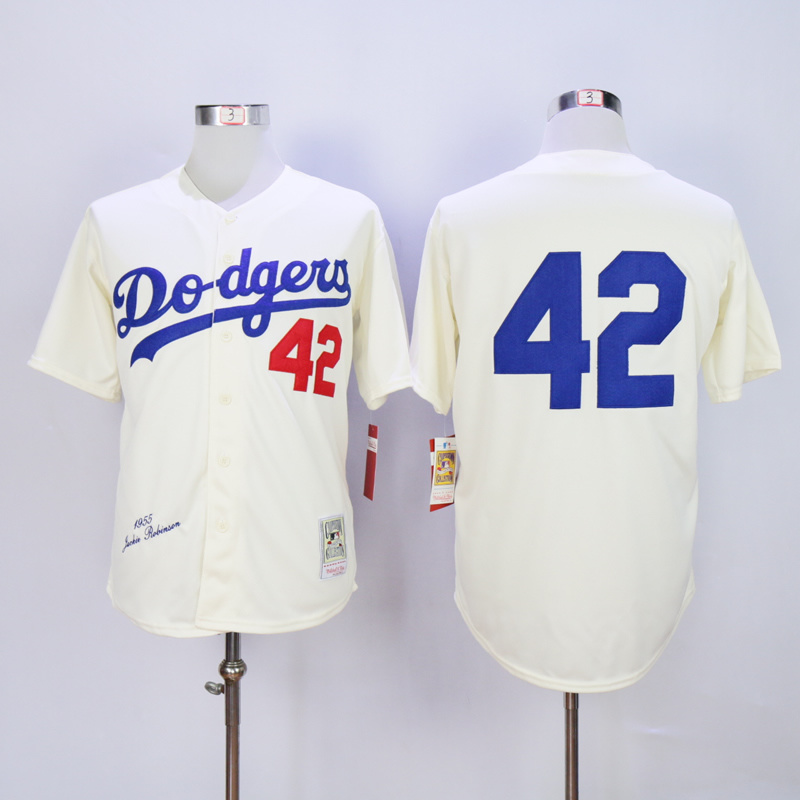 Los Angeles Dodgers 42 Jackie Robinson Throwback Jerseys Embroidery  Stitched Shirt Baseball Jersey ... 0162cb9c3e8