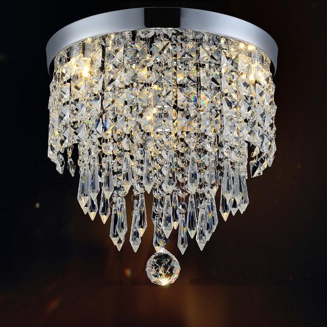 Nouvelle Vente Chaude Contemporain De Luxe Cristal LED Plafond