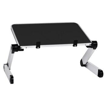 סנסציוני אלומיניום סגסוגת שולחן Ultralight מתקפל שולחנות ספה מיטת משרד מעמד YV-95