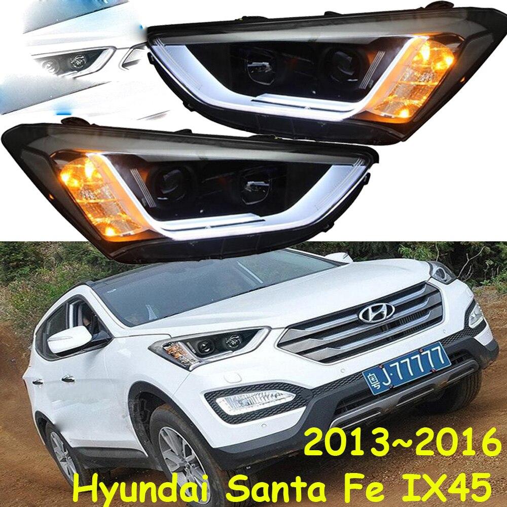 HID, 2013 ~ 2015, style de voiture, phare IX45, Solaris, accent, Elantra, Genesis, i10, i20, santa fe, tucson, lantra; IX45 phare