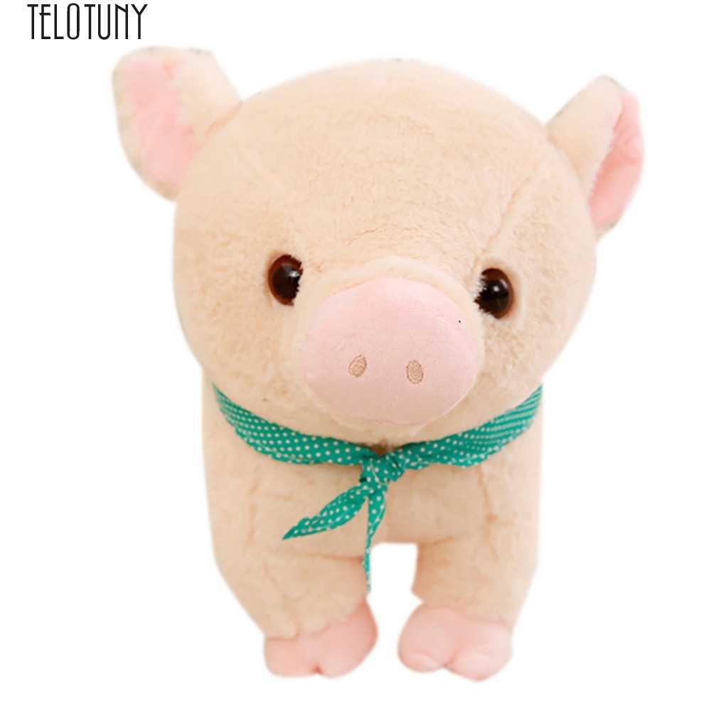 TELOTUNY образования забавная кукла Большая мягкая игрушечные животные Животные свинья плюшевая игрушка-подушка 16 дюймов развивающие милая игрушка Горячее предложение J28