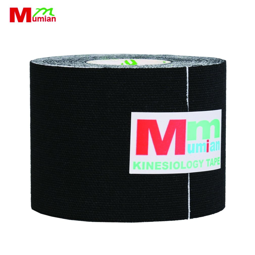 Mumian MK6 5M Cotton Elastic Adhesive Muscle Sports Roll Care Knee Bandage Breathable Kinesio Tex Tape Muscle Tape