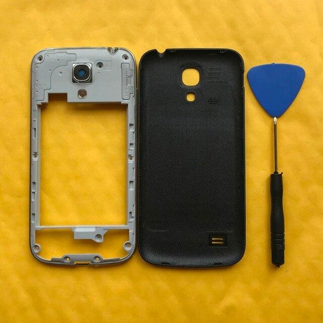 cc3beaee454 Original de marco para Samsung Galaxy S4 mini i9190 i9192 i9195 cubierta de  la carcasa del