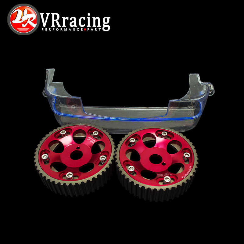 VR RACING - Aluminum Cam Gear+Cam Cover FOR 2JZ-GE and 2JZ-GTE Supra,GS300,IS300 VR6531R+6332