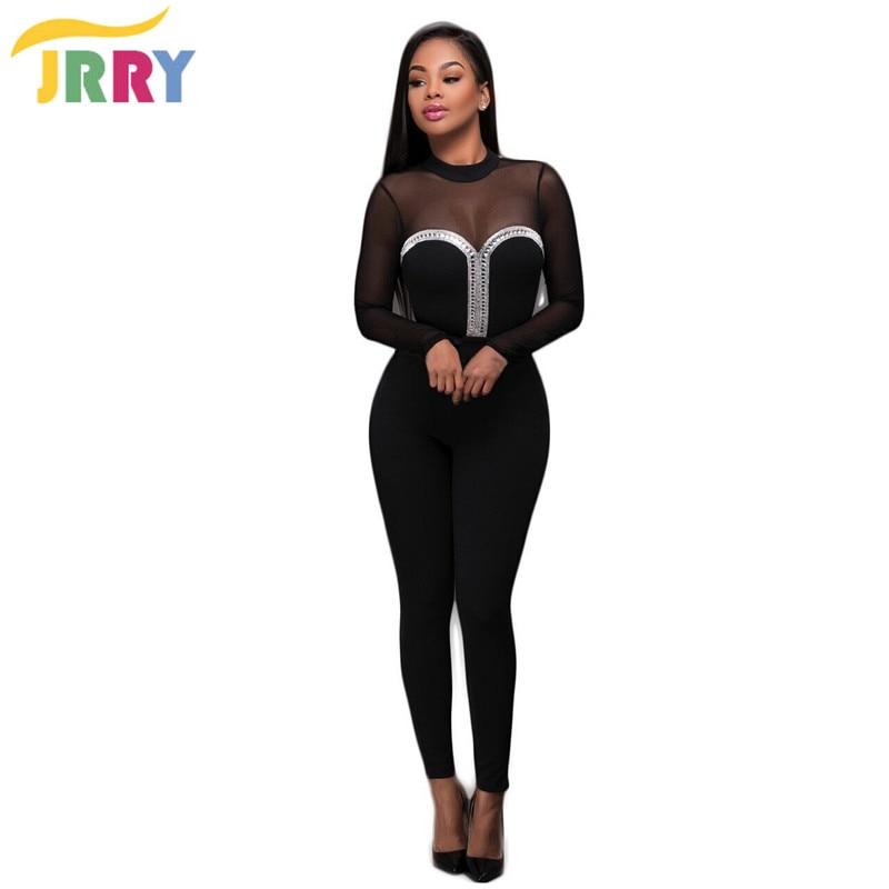 Womens Black Jumpsuit Promotion-Shop for Promotional Womens Black ...