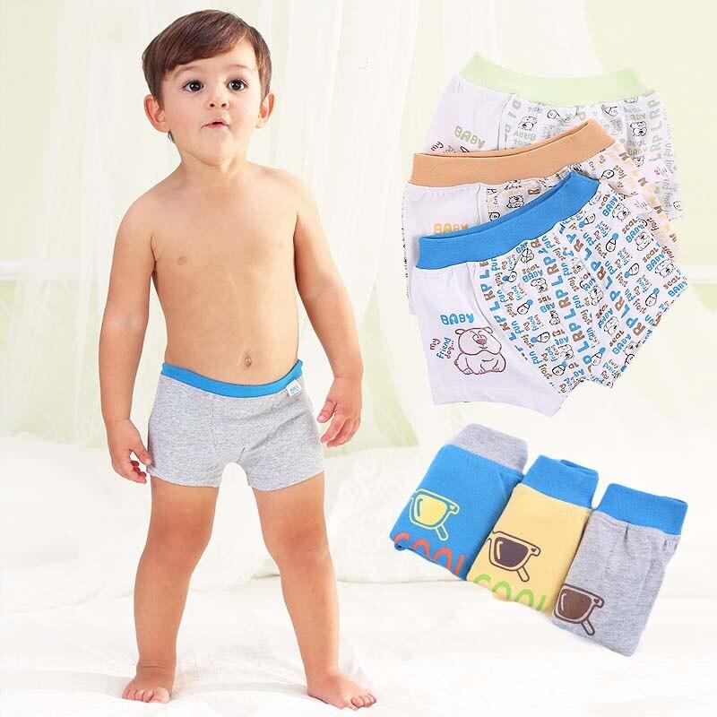 Kid Girls/' Cute Cartoon Bear Cotton Briefs Panties Underwear Briefs Showy HK