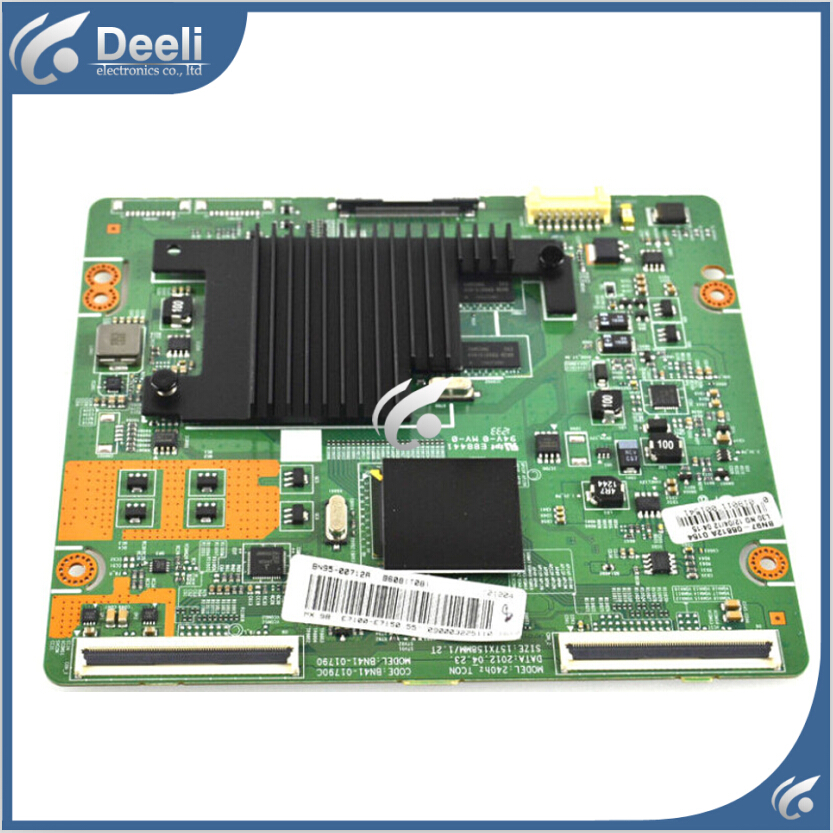 Working good 95% new original for 46 inch board UA46ES7000J logic board BN41-01790C BN41-01790 with screen LTJ460HQ10-H free shipping 100% oryginalny ua46es6900j ua55es6100j logic board bn41 01789a
