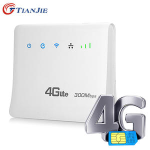 Unlocked 300 Mbps Portable Wireless Router WiFi Router SIM card Wifi Routers 4G
