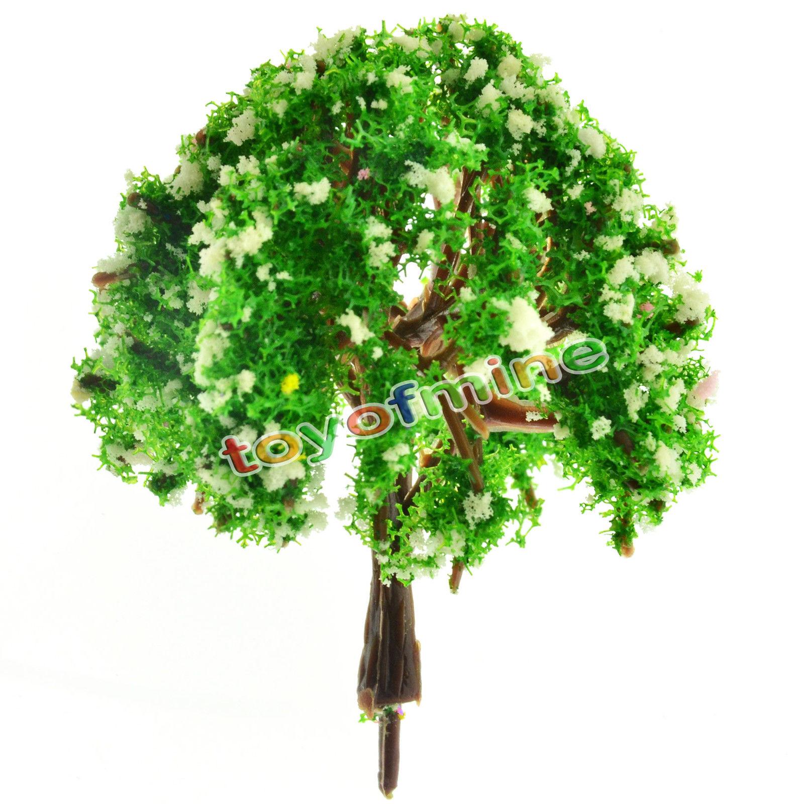 Mini Garten Dekorationen Harz Baum Märchengarten Miniaturen Bäume