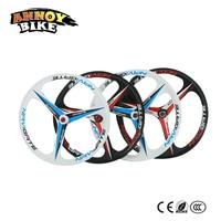 1 Kit Pair 24 26 Inch Magnesium Alloy 3 Knife Disc Brake Mountain Bike One Piece