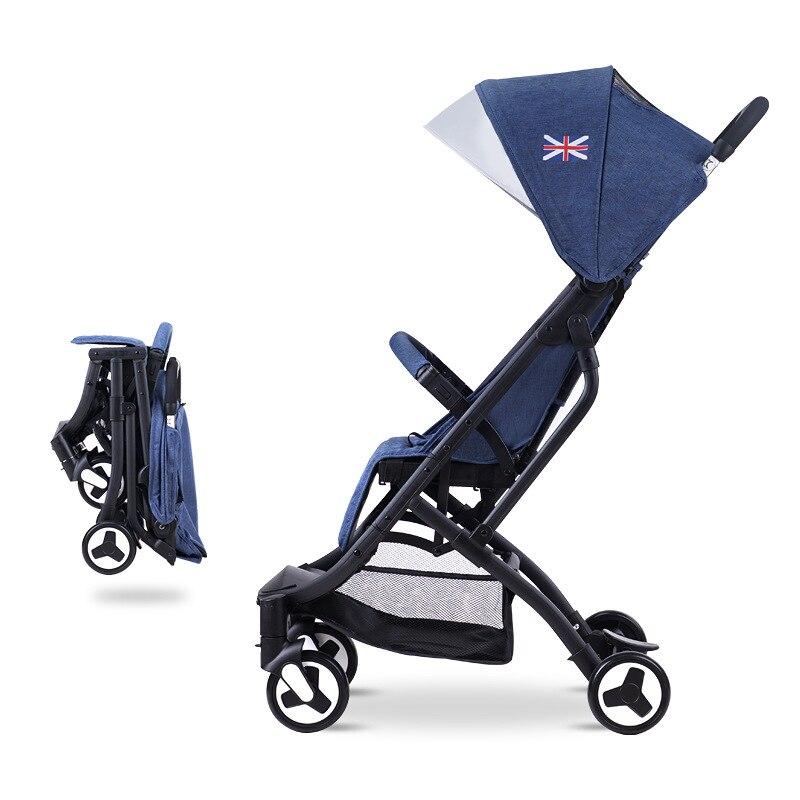 Stroller Ultra-lightweight foldable poussette newborn kinderwagen baby stroller 2 in 1 children portable Baby Stroller stroller 1 baby