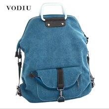 af0c0e20 Женский рюкзак для подростков девочек Корейская женская сумка Военная  Черная парусиновая дорожная дизайнерская брендовая черная школьная