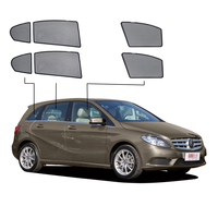 Special Made Net Car Window Visor Side Rear Windows Blinds Front Side Window Sunshades for Mercedes Benz W245