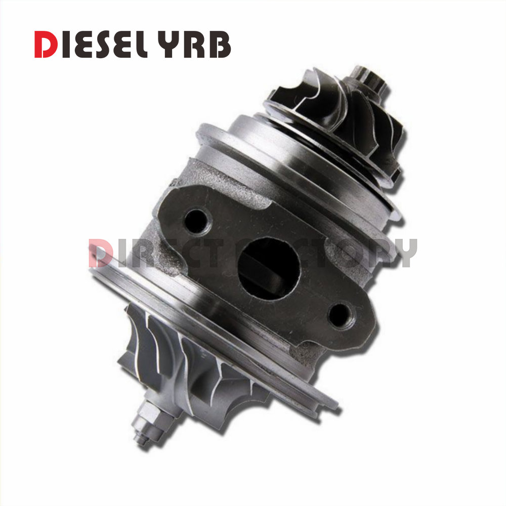 turbocharger turbo TD02 turbo core 49173-07508 / 49173-07507 / 0375N5 / 0375Q5 kit CHRA for Citroen C3 C4 1.6 HDi 2005 yb1302001 car turbo sound whistling turbocharger silver size l