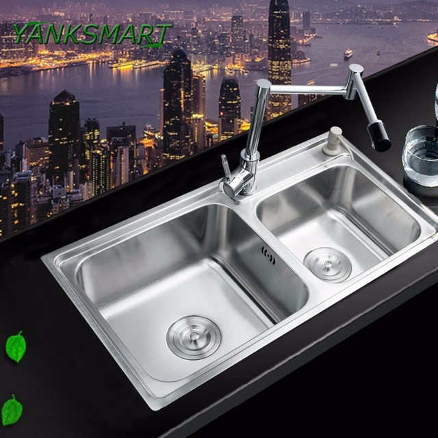 Yanksmart Swivel 360 Kitchen Faucet Bathroom Sink Faucet Torneira