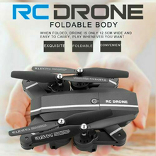 8807 Drone Foldable With Wifi FPV RC Wide Angle HD Camera 2.4G 6-Axis RC Quadcopter High Hold Mode Professional 640p Quadcopter everywoman