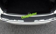 Для honda crv 2015 2016 abs пластик задний бампер протектор подоконник отделка багажника аксессуары 1 шт. стайлинга автомобилей