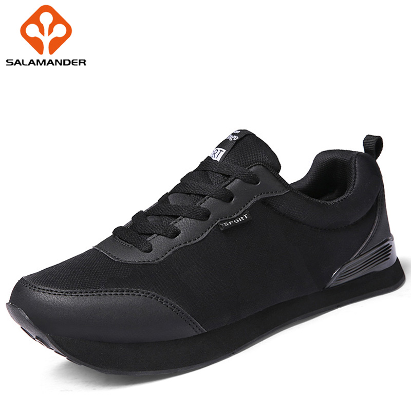SALAMANDER Summer 2018 Men Running Outdoor Athletic Run Shoes Sport Shoes For Male Walking Man Brand Breathable Mens Sneakers