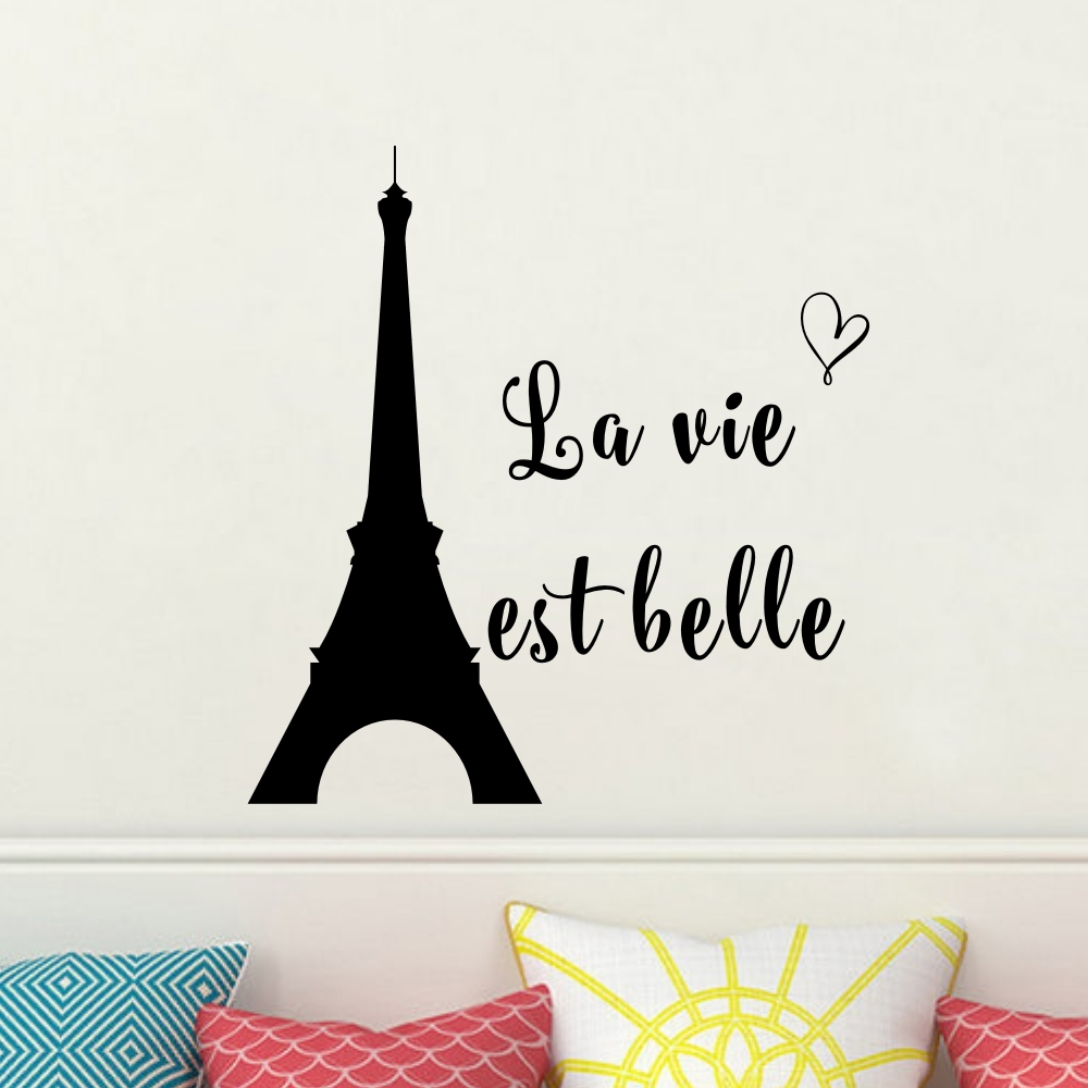 Good Buy French Quote Le Vie Est Belle Life Is Beautiful