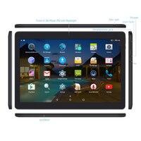 Yuntab K107 10.1 calowy Tablet PC 1 GB + 16 GB Quad-Core z Bluetooth Dual Camera Dual SIM karta telefon komórkowy 1280X800 (Czarny)