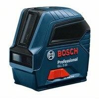 BOSCH GLL 0601063L00 linhas de nível Do Laser auto nivelamento cruzada Gama 10 m IP54 2-10 Projeção Profissional