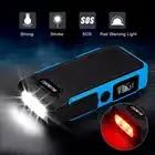 Suaoki U10 автомобиль скачок стартер 20000 мАч Мощность банк Комплекты внешних аккумуляторов перезаряжаемые Батарея светильник 12V для 6L газа 5L диз... - 5