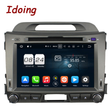 Idoing 2Din 8″Steering-Wheel 8 Core 2G+32G Car DVD Player Fot Kia Sportage Android6.0 GPS Navigation With Canbus Bluetooth RDS