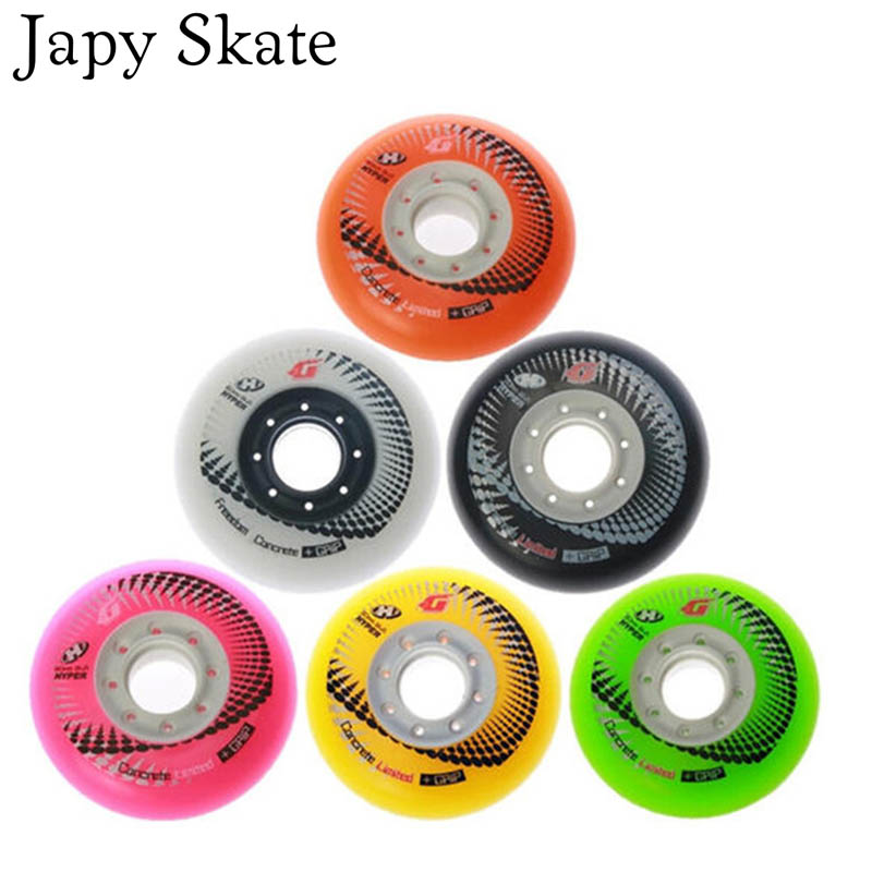 Japy Skate Original HYPER HP G Concrete Wheels Artistic Roller Skating Wheels Free Shipping Good Quality