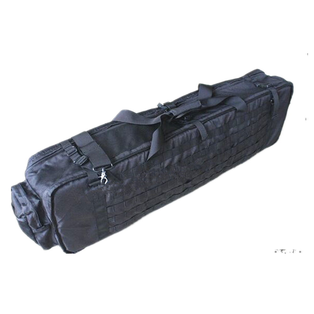 TMC tactical rifle gun bag fishing 1000d nylon M60 M249 Gun bag Case 100cm 47 folding fishing rod bag tactical duel rifle gun carry bag with shoulder strap outdoor fishing hunting gear accessory bag