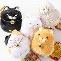 Розничная Япония Борода черная фасоль хлеб Развлечь плюшевые куклы брелок сумка кулон 20160520