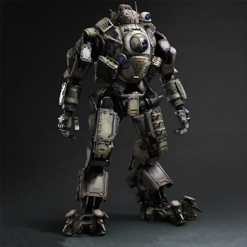 26cm Anime Atlas Titanfall Titan Fall Movable PVC Play Arts PA Kai Action Figure Model Toy Collection Cartoon Dolls XMAS Gift 27cm play arts kai movable figurine assassin s creed edward pvc action figure toy doll kids adult collection model gift