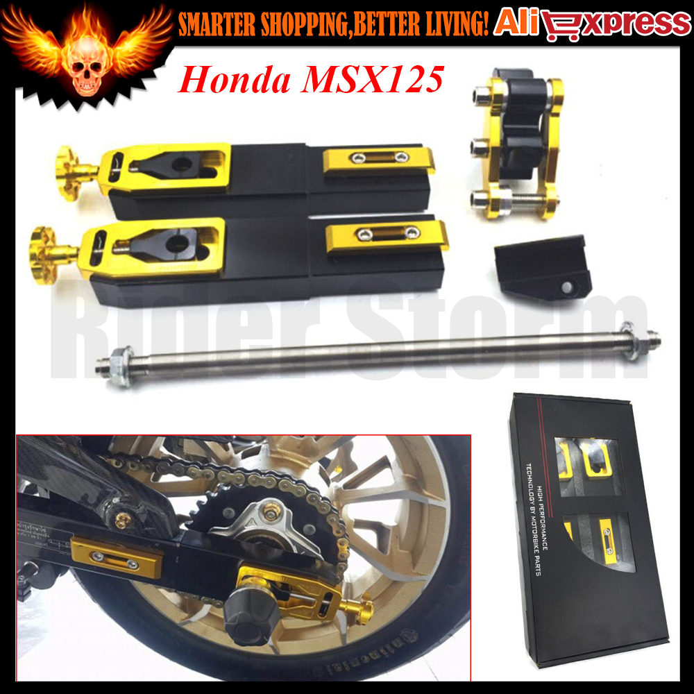 Motorcycle Accessories modified For Honda MSX125 CNC Aluminum Rear Fork extension device increased control shifter in shock forfree shipping motorcycle street bike refires aluminum alloy thickening large shock absorption device beightening 5cm elevator