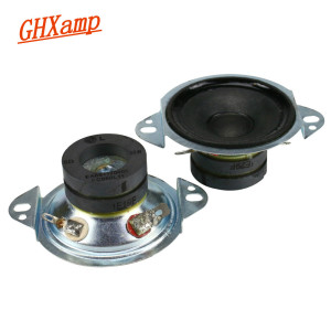 Image 1 - 2PCS For LG 2 inch Tweeter Dual Magnetic Treble Magnetic Liquid 8 Ohm 30W Rust