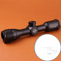 LEBO 4x32AO Single Tube Tactical Airsoft Hunting Rifle Scope Optical Sight Hunting Equipment Riflescope