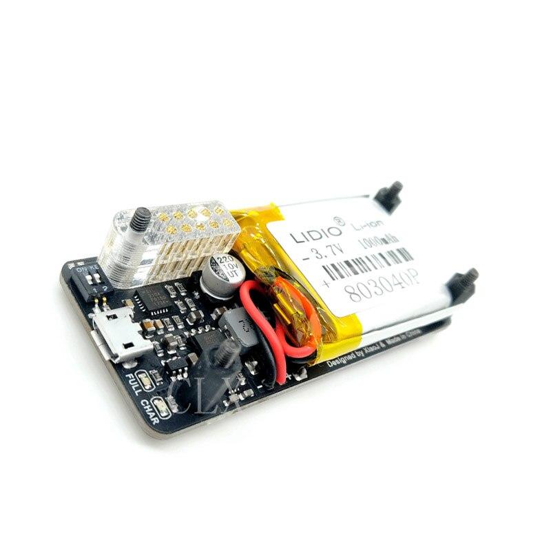 Carte d'alimentation d'ups de framboise Pi zéro, port série intégré, détection de puissance