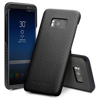QIALINO Genuine Leather Case For Samsung Galaxy S8 Case Back Cover For Samsung S8 Plus Ultra