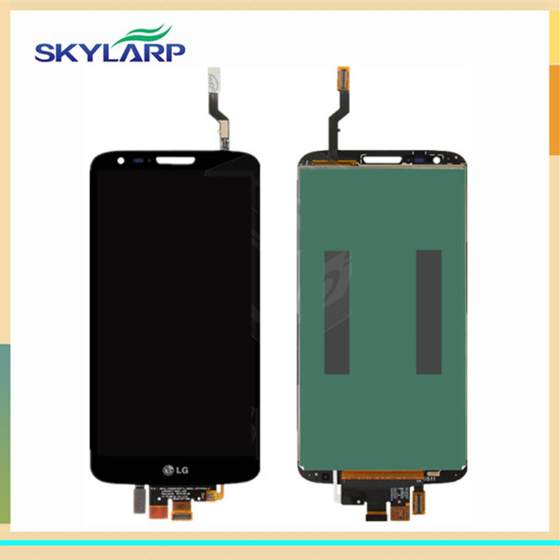 ФОТО original for LG G2 D800 D801 D803 LS980 VS980 LCD screen Module With Touch Screen Replacement
