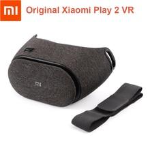 Original Xiaomi Mi Play 2 VR Box Immersive Virtual Reality 3D Glasses Dragon Dance Cloth Invisible cooling holes VR Cardbord