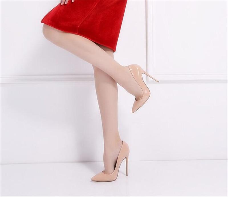 Cm 28 Zapatos Heel Tacon Mujer Charol Nude Heel Alto 12 Formales De Tacón Diseños 10 Boda 10 Sexy qUWFOq