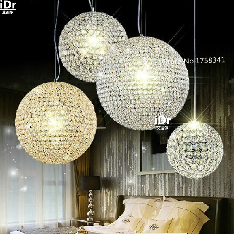 New K9 Crystal ball Pendant Lights for living room high quality Stainless steel Crystal lamps YX-1 сигнализатор поклевки hoxwell new direction k9 r9 5 1