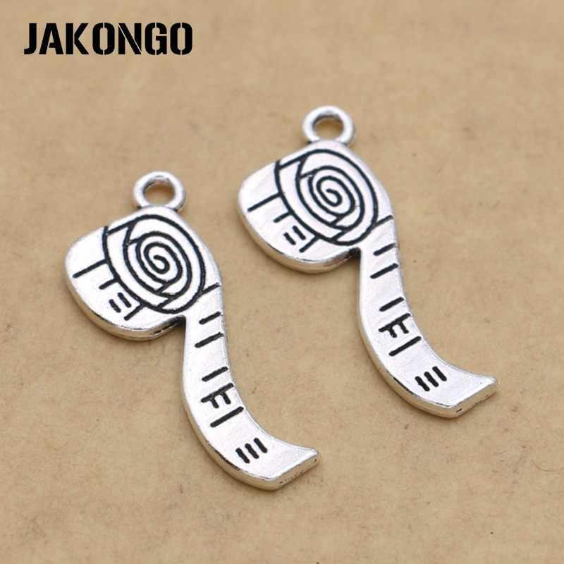 10 pçs prata antiga banhado a fita ruller encantos pingentes para pulseira jóias fazendo acessórios diy colar 27x10mm