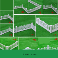 Model Fence Hedge Fence Villa Garden Railing Variety Specifications Selection Construction Sand Table Model Material