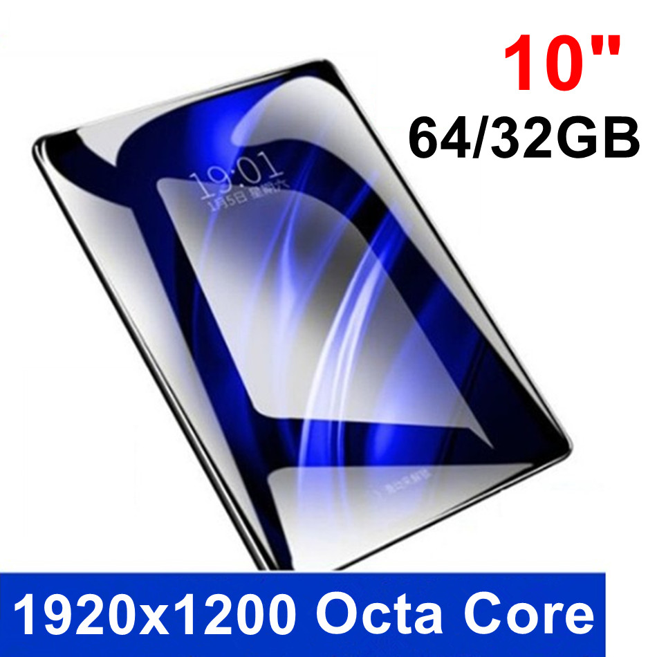 KUHENGAO 10 Inch New 4G Worldsite Octa Core Tablet Pc With Mobile Phone 2 In 1 Android Tablet 32/64GB 1920x1200