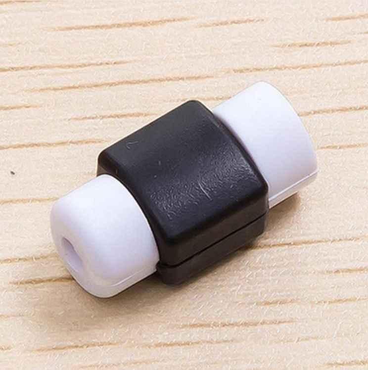 Kolorowe słuchawki akcesoria Mini kabel USB do ładowania dla Samsung S7 S8 S9 Plus skrzynki pokrywa dla iphone 5s 6s 7 8 Protector