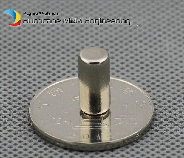 NdFeB Cylinder Magnet Dia 6.35x12.7 mm Magnet Rod 1/4x1/2 Strong Neodymium Magnets Rare Earth Magnets Permanent Sensor 5pcs round circular cylinder 25 x 20 mm magnet rare earth neodymium 25 20 mm