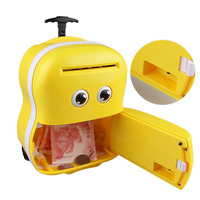 Cute Meng Baby Automatic Roll Music Trolley Case Password Box Child Piggy Bank Aug30 Professional Factory